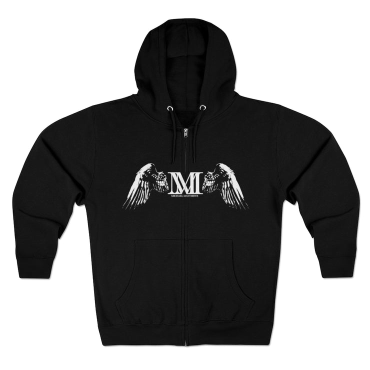 MICHAEL MATTHEWS DARK KNIGHT ZIP UP HOODIE