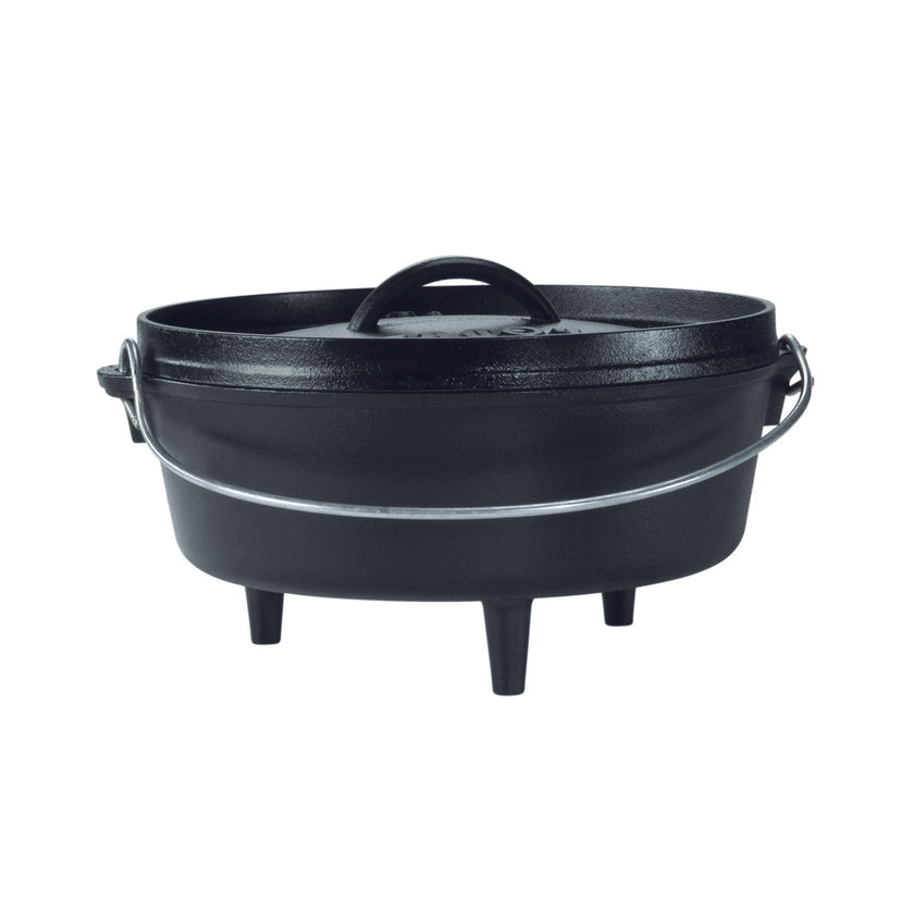 Cast Iron Camp Dutch Oven - 3.8L, 25cm