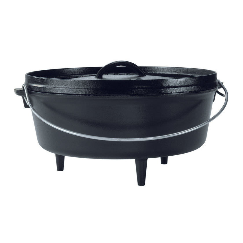 Cast Iron Camp Dutch Oven - 5.6L, 30cm