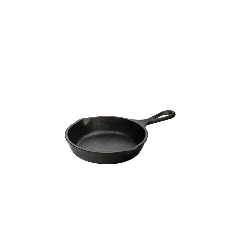 Heat-Treated Cast Iron Miniature Skillet 13cm