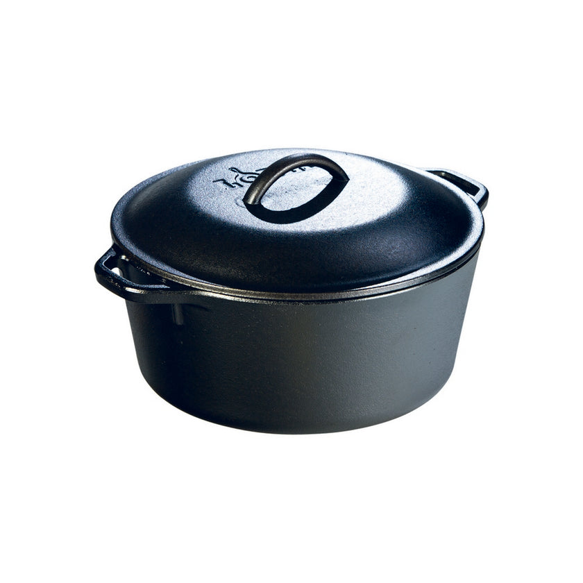 Cast Iron Dutch Oven 4.7L