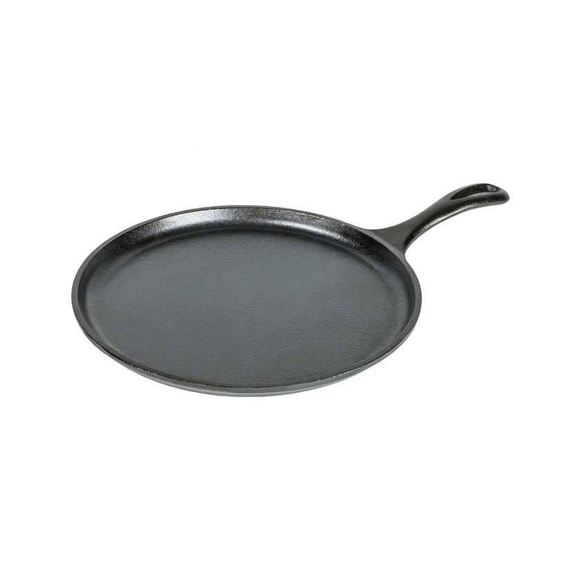 Cast Iron Round Griddle 26cm