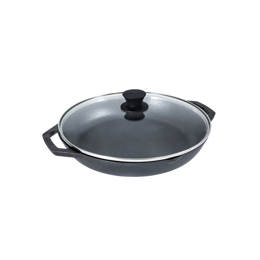 Cast Iron CHEF COLLECTION Pan with lid 30cm