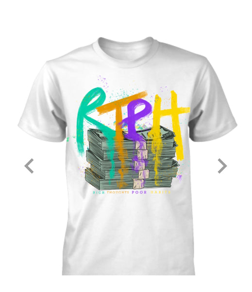 "RTPH ""COLORFUL MONEY"" T-SHIRT"