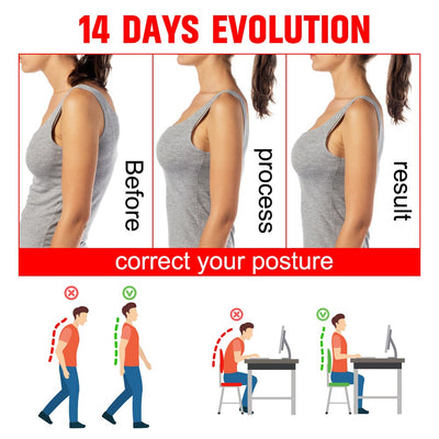 Adjustable Back Posture Corrector - SportConveniently