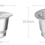 Reusable Stainless Steel Coffee Pod Capsule