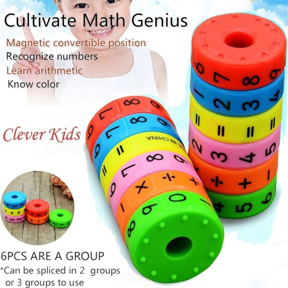 Magnetic Math Cylinder - Cool EduPLAYtion for kids!