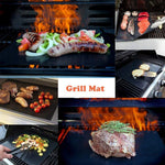 Non Stick Grill Mat 100% Healthy