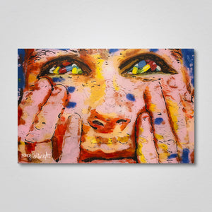 "Acrylic Print: ""Filled with Lies"""