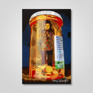 "Acrylic Print: ""Trapped in a Bottle"""