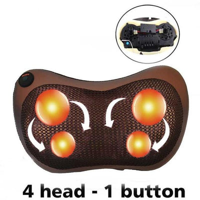 Shiatsu Massage Pillow for Shoulders, Back and Neck - lessmoney.com