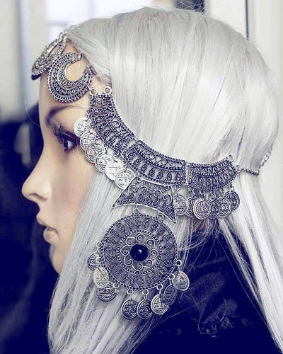 Bohemian gypsy Headpiece