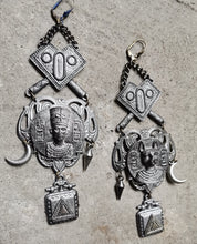 Load image into Gallery viewer, Egyptian Long bohemian earrings