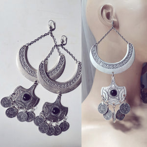 Tribal Long bohemian earrings