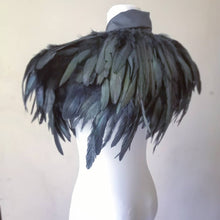 Load image into Gallery viewer, Unisex feathered bolero