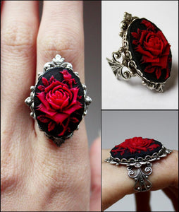 Beautiful rose ring