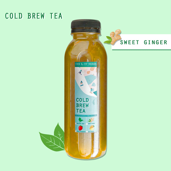 Sweet Ginger Cold Brew Tea