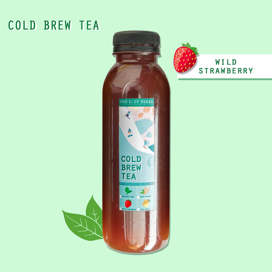 Wild Strawberry Cold Brew Tea