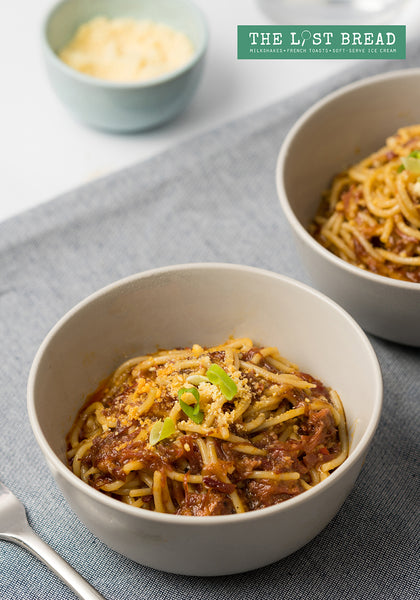 Spicy Corned Beef Pasta