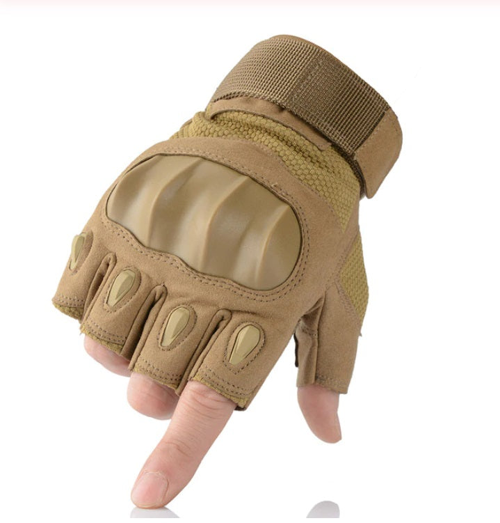 Motorcycle Gloves Protective Gear Riding Biker Full And Fingerless Glove