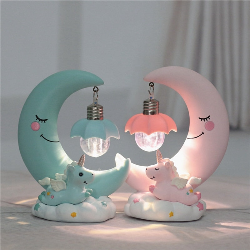 Unicorn Lamp Night Table LED Light