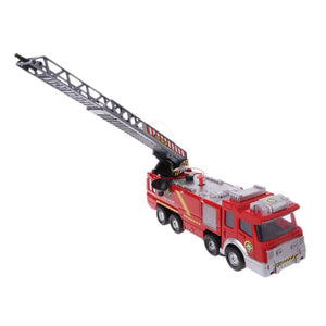 Fire Truck Engine For Kids Red Firefighter