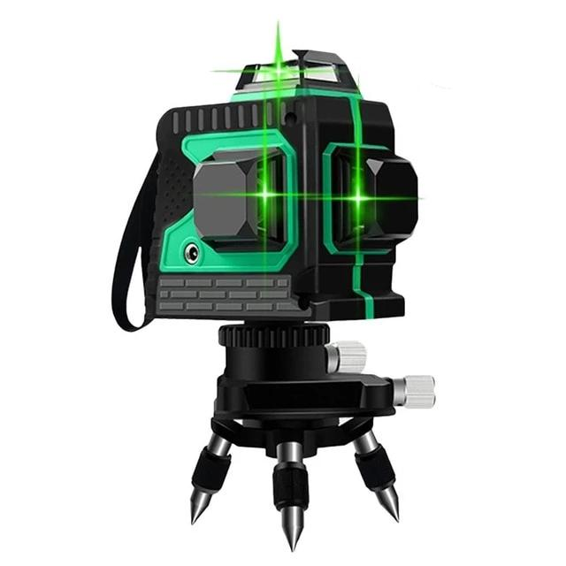 Laser Level Rotary 3D Self Green Leveling Tool