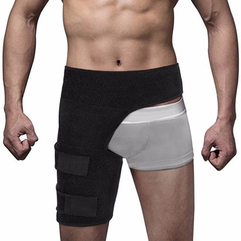 Hip Stabilizer Support Strap Adjustable Compression Wrap Groin Brace Therapy Premium Supportive