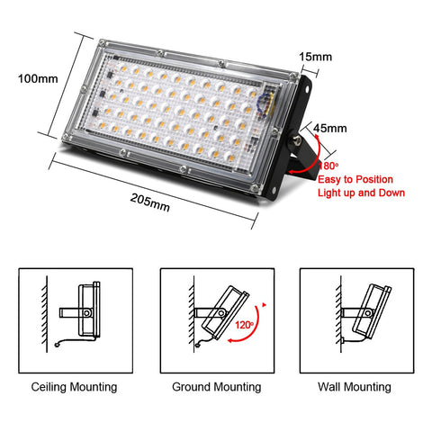 Flood Light LED Outdoor Lights Floodlight