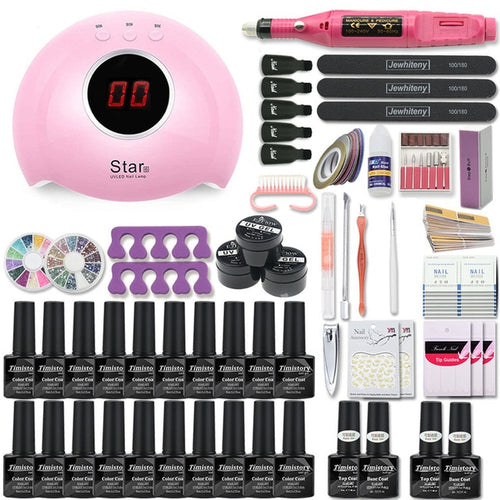 Acrylic Nail Kit Set Manicure Tools Professional Nails And Pedicure Supplies Pedicure Tool