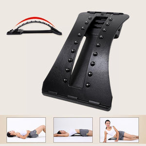 Back Stretcher Massage Stretching Device Lower Lumbar