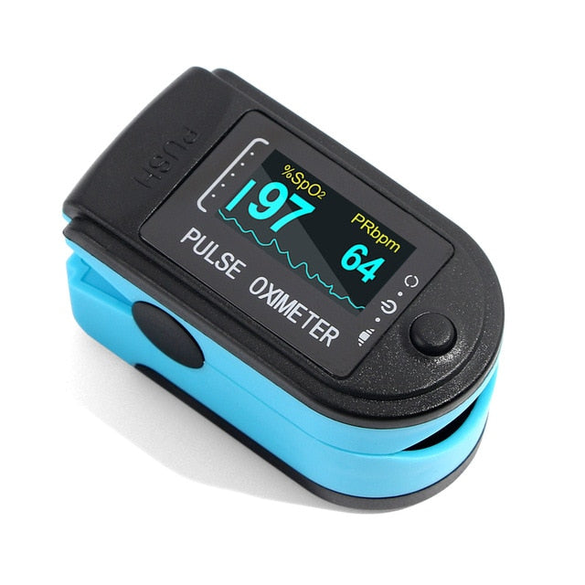 Pulse Oximeter SpO2 Finger Oxygen Saturation Monitor Sensor
