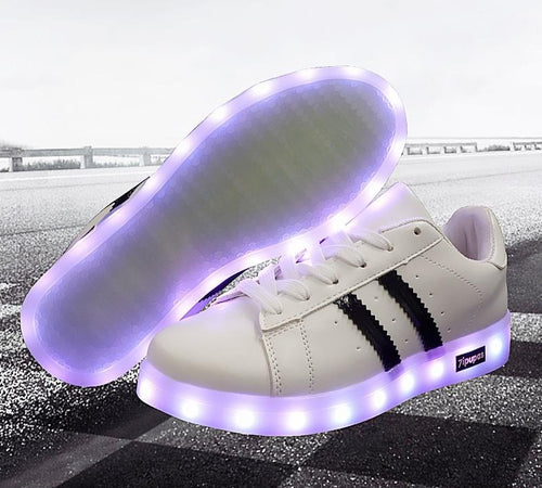 Kids LED Shoes Light Up Sneakers For Boys And Girls