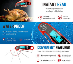Kitchen Thermometer Cooking Food Digital Meat BBQ And Wireless instant