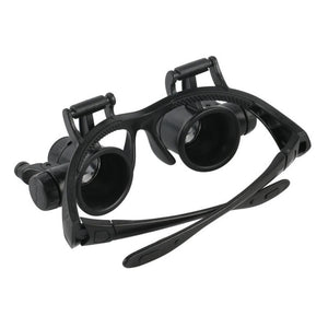 Magnifying Glasses With Light Best LED Lamp For Jewellers Loupe And Reading Spectacles Magnifier