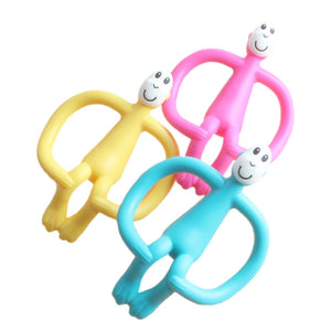 Baby Teether Toys For Teething Made From Silicone