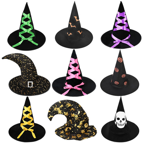 Witch Hats Black Costume Womens Halloween hat