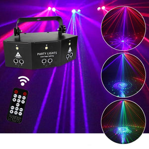 New Nine Eye Laser Strobe Light