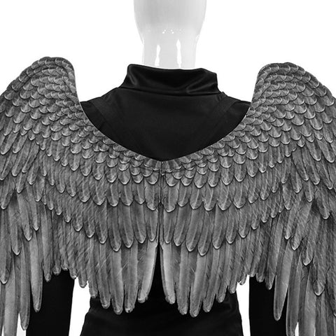 Devil Wings Black Angel Fallen Costume For Halloween Big Large Adult Wings