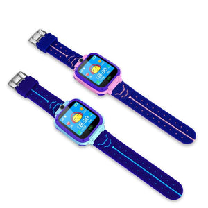 TrackerBand Kids Phone Watch And Tracking GPS Device Smart Tracker Kid Approved Large Touchscreen LED Children's