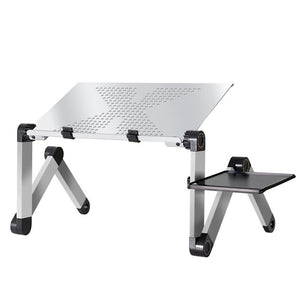 Lap Desk Laptop Table Portable Bed And Couch For Desk Tray Computer Stand Pillow Adjustable Mobile Holder