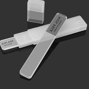 Glass Nail File For Fingernail