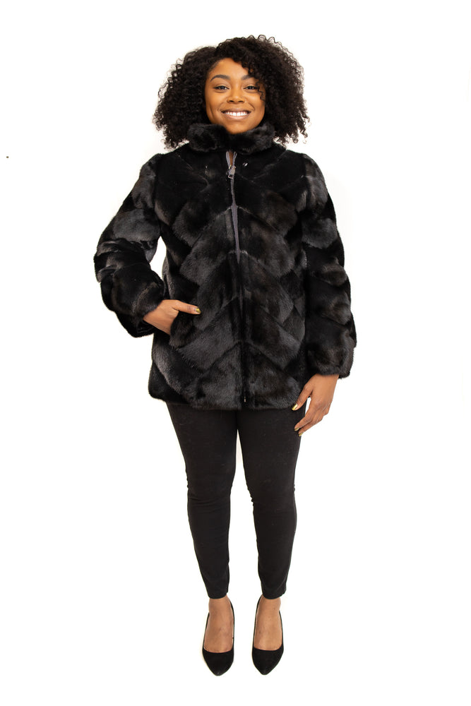 Ranch Mink Stroller Reversible Goose Down Available in Cleveland at ETON Chagrin Boulevard and in Akron at Summit Mall