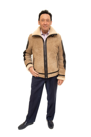 Shearling Jacket Flight Available Cleveland ETON Chagrin & Akron Summit Mall