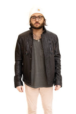 Leather Jacket Washed Available Cleveland ETON Chagrin & Akron Summit Mall