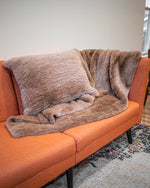 Rex Fur Blanket Knitted Two Sided Available Cleveland ETON Chagrin & Akron Summit Mall