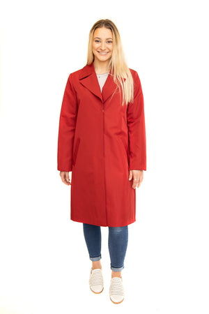 Red Cloth Raincoat Available Cleveland ETON Chagrin & Akron Summit Mall