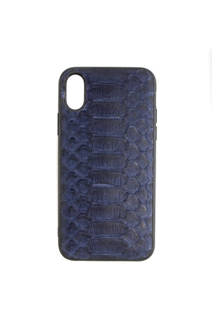 Python iPhone Case Blue