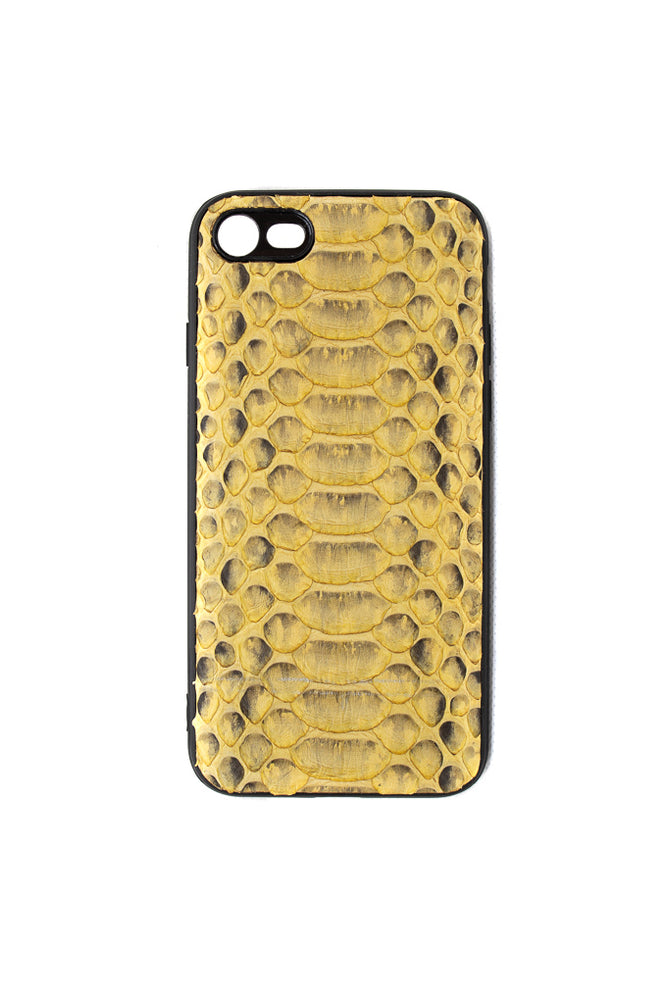 Python iPhone Case Gold
