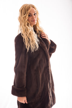 fur mink coat